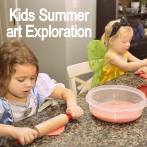 kids art exploration