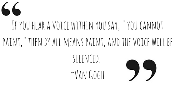 - If you hear a voice withi
