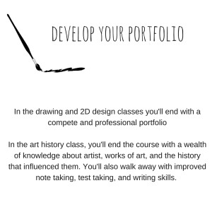 develop your portfolio
