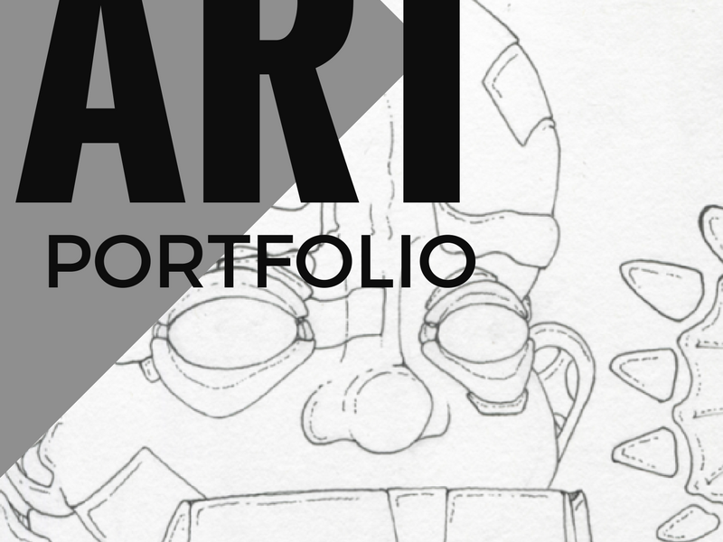 How to put together an Art Portfolio