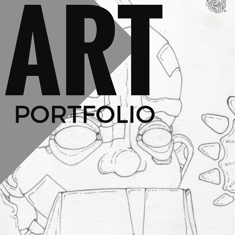 How to create an art portfolio