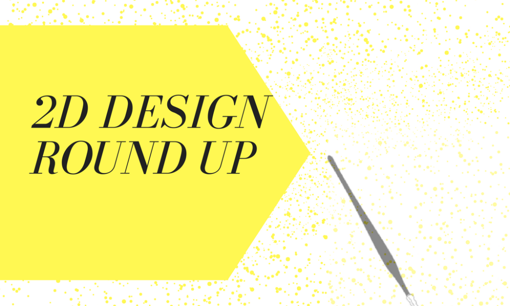 2D Design Lesson Round Up