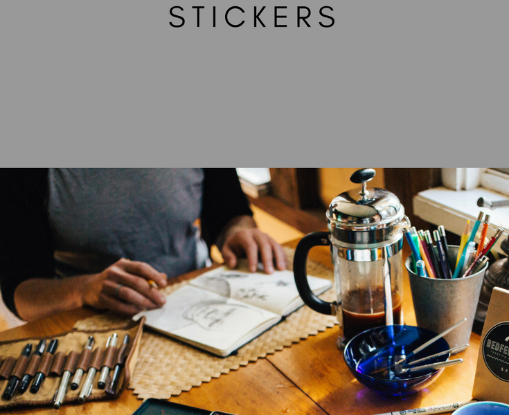 Sketchbook Stickers for your classroom